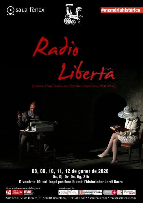Cartell RADIO LIBERTA