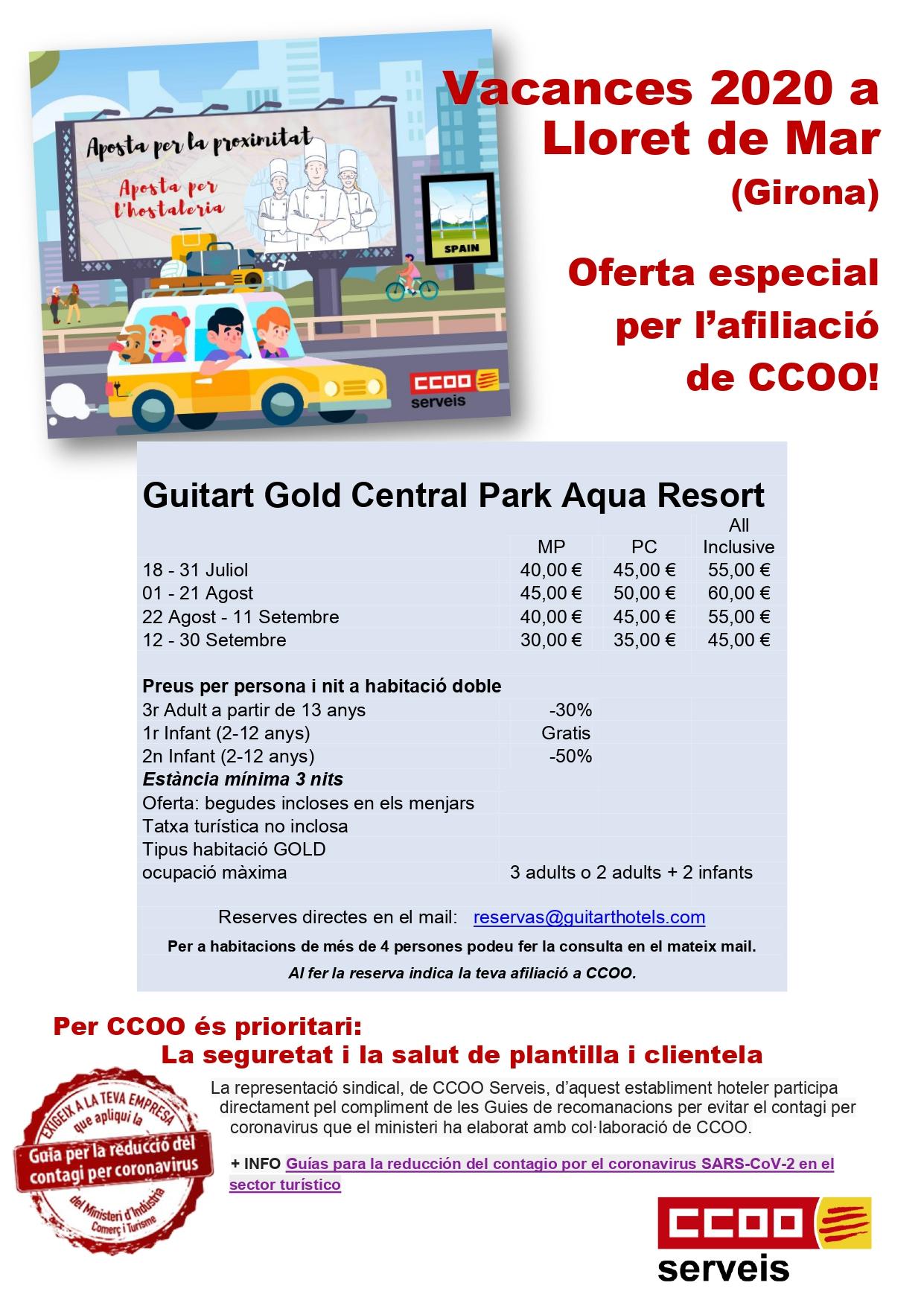 Oferta CCOO